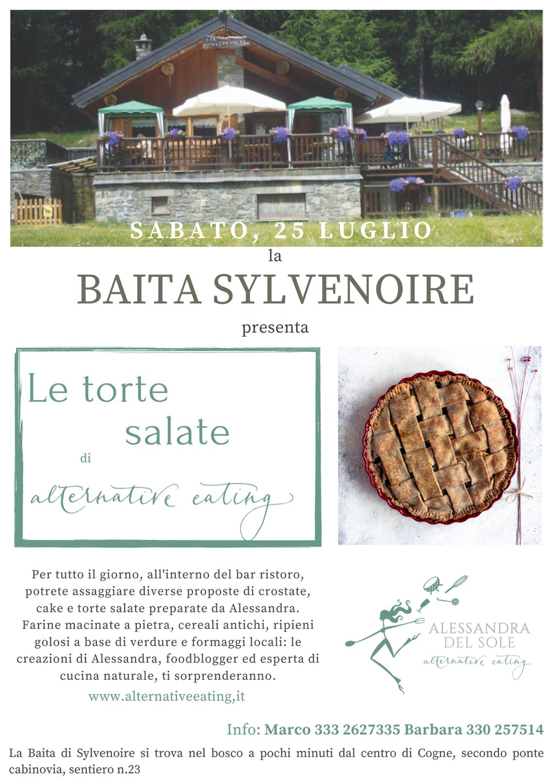 Le torte salate di alternative eating